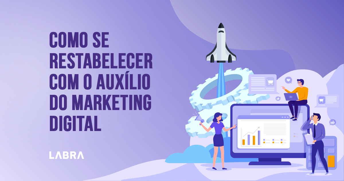 Com as industrias podem se restabelecer com o auxílio do marketing digital